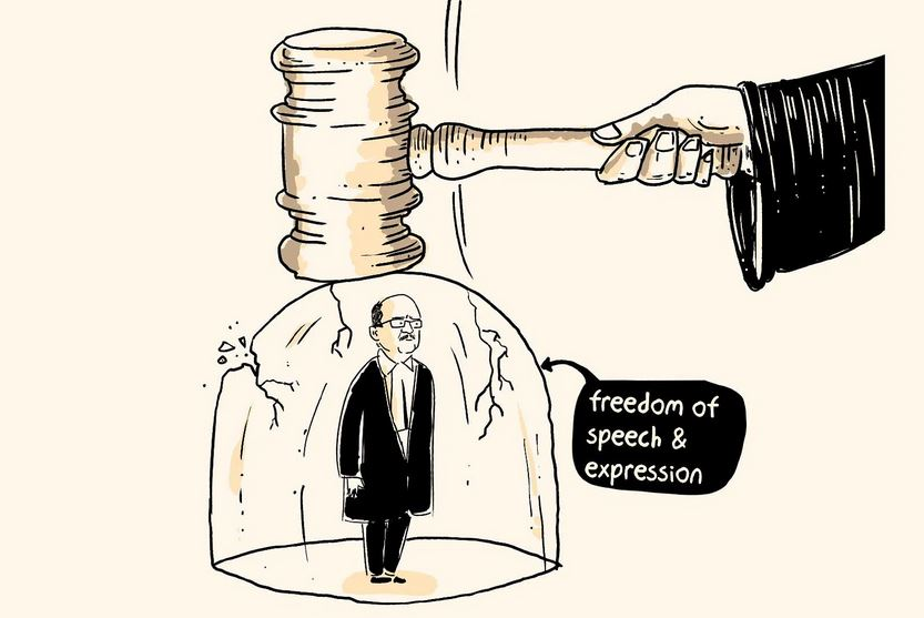 FREEDOM OF SPEECH AND CONTEMPT OF COURT