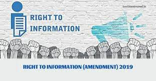 DEMOCRACY AND PEOPLE'S People's RIGHT TO INFORMATION: SNEAK INTO RTI AMENDMENT ACT